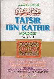 tafsir ibn kathir  (Islamic Books) full 10 VOLUMES (ABRIDGED)